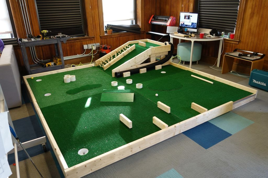 realizzare un mini golf